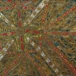Centro de Controle da Cidade do Futuro nº 03 – Pintura e Colagem sobre compensado de madeira, 2,45 x 1,20 m, 1967. Obra participante da IX Bienal Internacional de São Paulo. Acervo do Centro Cultural da Cidade de São Paulo – CCSP
