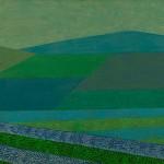 Perspectiva Agrícola nº 8 – óleo sobre tela, 1,10 x 0,60 m – 1981. Coleção Particular
