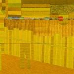 Sem título – óleo sobre tela, 09 x 0,50 m – 1979. Coleção Particular