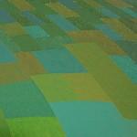 Áreas de Cor nº 7 – óleo sobre tela, 1,80 x 1,20 m – 1982. Acervo do Centro Cultural da Cidade de São Paulo – CCSP