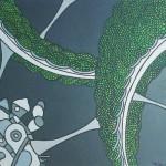 Tecnologia Agrícola nº 04 – Óleo sobre tela, 1,15 x 0,90 m – 1968. Acervo do artista.