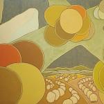 Café nº 01 – óleo sobre tela, 2,00 x 1,50 m – 1970. Acervo do artista.
