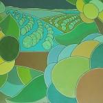 Café nº 02 – óleo sobre tela, 2,00 x 1,50 m – 1970. Acervo do artista.