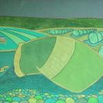 Saca de Café – óleo sobre tela, 1,00 x 0,80 m – 1972. Acervo do artista.