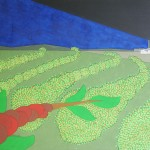 Cafezal-Fábrica – óleo sobre tela, 1,20 x 0,80 m – 1973. Acervo do artista.