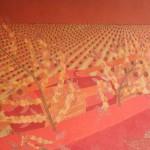 Protegendo o Cafezal – óleo sobre tela, 1,30 x 1,00 m – 1975. Acervo do artista.