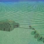 Tanque Arando – óleo sobre tela, 1,30 x 1,00 m – 1975. Acervo do artista.