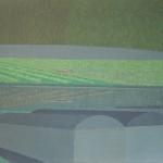Sem título – têmpera ovo sobre tela, 1,95 x 1,30 m – 1977. Acervo do artista.