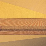 Reflexo do Esgoto – óleo sobre tela, 1,80 x 1,20 m – 1977. Acervo do artista.