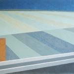 Paisagem Fabril nº 01 – óleo sobre tela, 1,60 x 1,00 m – 1979. Acervo do artista.
