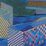 Cidade – óleo sobre tela, 1,80 x 1,20 m – 1981. Coleção particular.