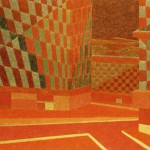 Paisagem Metropolitana III – óleo sobre tela, 1,80 x 1,20 m – 1981. Coleção particular.