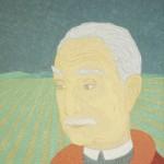 Retrato de Pietro Maria Bardi – óleo sobre tela, 0,80 x 1,00 m – 1983. Acervo do artista.