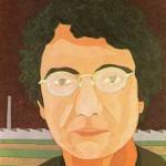 Retrato de Olívio Tavares de Araújo – óleo sobre tela, 0,80 x 1,00 m – 1983. Acervo do Museu de Arte Brasileira (MAB) - FAAP.