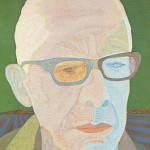 Retrato de Paulo Mendes de Almeida – óleo sobre tela, 0,80 x 1,00 m – 1983. Acervo do Museu de Arte Brasileira (MAB) - FAAP.