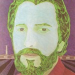 Retrato de Claudio Tozzi – óleo sobre tela, 0,80 x 1,00 m – 1983. Acervo do Museu de Arte Brasileira (MAB) - FAAP.