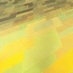 Geo/Metria nº 29 – óleo sobre tela, 1,80 x 1,20 m – 1984. Coleção Particular.