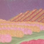 Releitura Cafezal nº 15 – óleo sobre tela, 0,90 x 0,70 m – 1984. Acervo do artista.