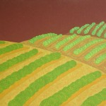 Releitura Cafezal nº 18 – óleo sobre tela, 0,90 x 0,70 m – 1984. Acervo do artista.