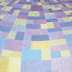 Paisagem Curva Lilás – óleo sobre tela, 1,60 x 1,10 m – 1986. Coleção particular.