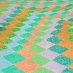 Geometria Rural nº 10 – óleo sobre tela, 1,20 x 0,75 m – 1987. Acervo do artista.