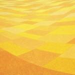 Paisagem Curva Laranja – óleo sobre tela, 1,80 x 1,20 m – 1987. Acervo do artista.