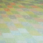 Cores da Terra nº 04 – óleo sobre tela, 1,30 x 0,80 m – 1988. Acervo do artista.