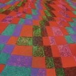 Áreas de Cor nº 10 – óleo sobre tela, 1,80 x 1,20 m – 1989. Coleção particular.