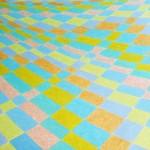 Geometria Rural nº 14 – óleo sobre tela, 1,70 x 1,10 m – 1990. Acervo do artista.