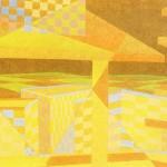 Relatividade Metropolitana nº 18 – óleo sobre tela, 1,70 x 1,10 m – 1991. Acervo do artista.
