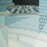 Relatividade Metropolitana nº 32 – óleo sobre tela, 1,70 x 1,10 m – 1991. Acervo do artista.
