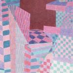 Relatividade Metropolitana nº 16 – óleo sobre tela, 1,10 x 1,70 m – 1991. Acervo do artista.