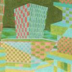 Relatividade Metropolitana nº 15 – óleo sobre tela, 1,60 x 1,05 m – 1991. Acervo do artista.