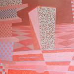 Relatividade Metropolitana nº 29 – óleo sobre tela, 1,70 x 1,10 m – 1991. Acervo do artista.