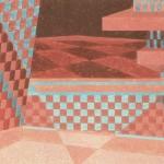 Relatividade Metropolitana nº 11 – óleo sobre tela, 0,80 x 0,50 m – 1991. Acervo do artista.