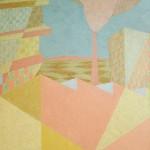 Relatividade Metropolitana nº 19 – óleo sobre tela, 1,25 x 1,50 m – 1991. Acervo do artista.