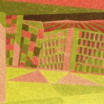 Relatividade Metropolitana nº 10 – óleo sobre tela, 0,80 x 0,50 m – 1991. Acervo do artista.