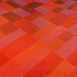 Erosão da Cor Vermelha – óleo sobre tela, 1,80 x 1,20 m – 1991. Acervo do artista.