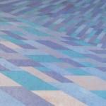 Erosão da Cor Ciano – óleo sobre tela, 1,80 x 1,20 m – 1991. Acervo do artista.