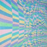 Paisagem Sub-Atômica nº 4 – óleo sobre tela, 1,20 x 1,70 m – 1993. Acervo do artista.