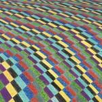 Paisagem Rural nº 13 – óleo sobre tela, 1,60 x 1,05 m – 1993. Acervo do artista.
