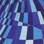 Movimento da Cor nº 9 – óleo sobre tela, 1,10 x 1,70 m – 1994. Acervo do artista.