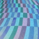 Arco-Íris Azul nº 3 – óleo sobre tela, 1,50 x 1,00 m – 1997. Acervo do artista.
