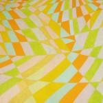 Arco-Íris Amarelo nº 1 – óleo sobre tela, 1,50 x 1,00 m – 1997. Acervo do artista.