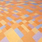 Paisagem Gerânio – óleo sobre tela, 1,30 x 0,80 m – 1998. Acervo do artista.
