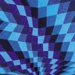 Trajetória Azul – óleo sobre tela, 1,50 x 1,00 m – 1999. Coleção Particular.
