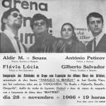 1966. Folder de divulgação da exposição do grupo Vanguarda Jovem.