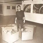 1969. Pintura Objeto exposta no MAM-SP, hoje pertence ao acervo do museu