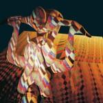 Coreografia por Ana Lívia Cordeiro e Gicia Amorin, com poemas de Décio Pignatari, Augusto e Haroldo de Campos. Pinturas para Pisar
