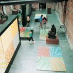 Exposição Pinturas para Pisar, realizada na Pinacoteca do Estado, São Paulo 2001
